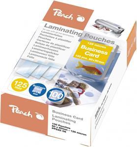 Peach PP525-08, laminovacia fólia, 100ks, 125mic, lesklá