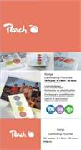 Peach PP525-10, laminovacia fólia, 100ks, 125mic, lesklá