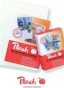 Peach PPR525-07, laminovacia fólia, 25ks, 125mic, lesklá