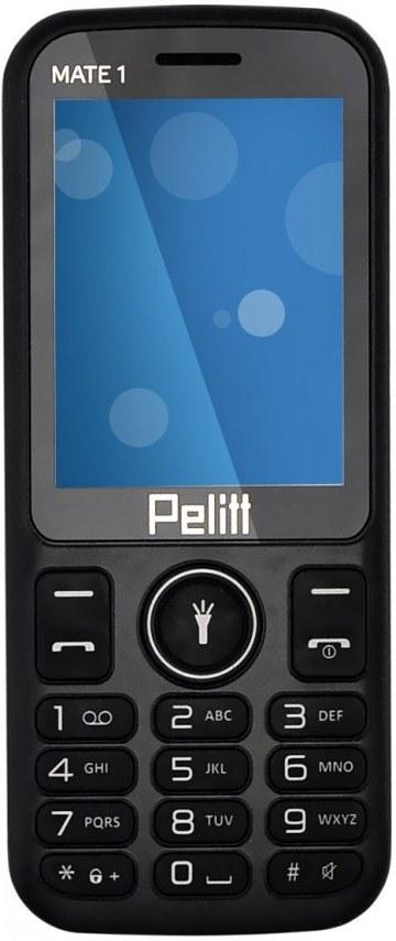 Pelitt MATE1, Dual Sim, čierny