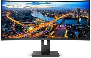 """Philips 345B1C/00 34"""" VA LED 3440x1440 50 000 000:1 5ms 300cd HDMI DP repro cierny"""