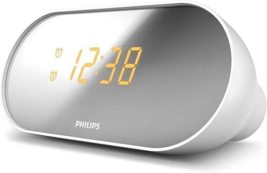 Philips AJ2000/12, rádiobudík, biely