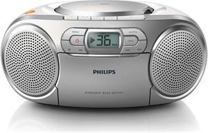 Philips AZ127/12, rádiomagnetofón s CD