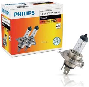 Philips H4 Vision +30% 12342PRC2 2ks/bal.