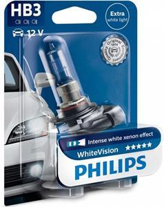 Philips White Vision HB3 +60% 9005WHVB1 blister