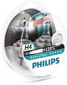 Philips X-tremeVision +130% H4 60/55W 12342XV 2ks/bal.