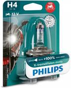 Philips X-tremeVision moto 12342XVBW H4 blister