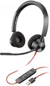 Plantronics BLACKWIRE 3320-M headset Stereo, USB-A