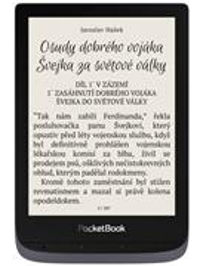 POCKETBOOK e-book reader 632 Touch HD 3, čitačka kníh, sivá