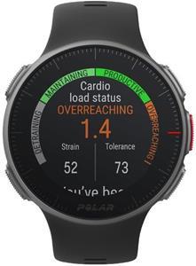 Polar Vantage V HR, športové hodinky, čierne