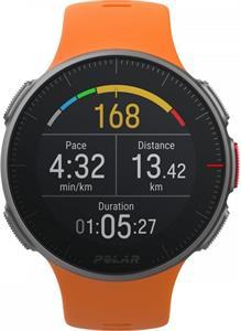 Polar Vantage V, športové hodinky, oranžové