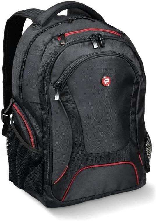 PORT DESIGNS COURCHEVEL, batoh na 17,3'' notebook a 10,1'' tablet, čierno-červený