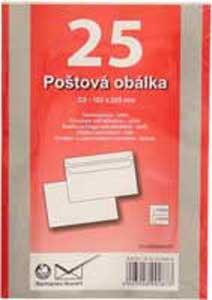 Poštové obálky C5 samolepiace 25 ks
