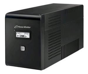 Power Walker UPS Line-Interactive 2000VA 2x 230V EU, 2x IEC, RJ11/RJ45, USB, LCD