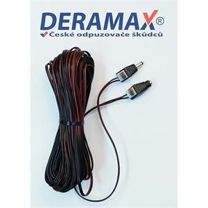 Predlžovací napájací káblik 20 metrov pre zdrojové odpudzovače Deramax