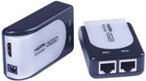 PremiumCord HDMI extender cez RJ45 až na 60,0m cez kábel Cat5e/Cat6