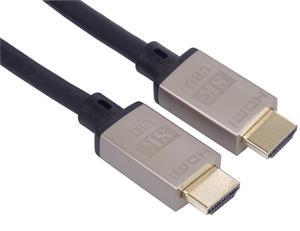 PremiumCord kábel HDMI v 2.1 M/M, prepojovací Ultra High Speed + Ethernet 0,5m