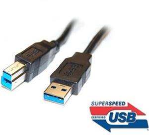 PremiumCord kábel USB-A na USB-B M/M, tlačiarňový prepojovací 1,0m