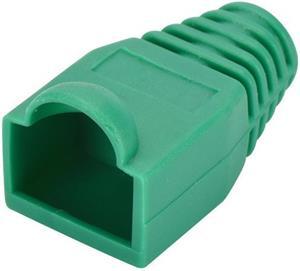 PremiumCord plastová krytka pre konektory RJ45, zelená