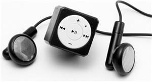 Přenosný MP3 přehrávač MusicMan Mini Style (TX-52) - černý