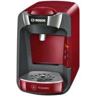 Pressovar Bosch TASSIMO SUNY, 1300 W, 3,3 bar, 0,8 l, červená/antracit