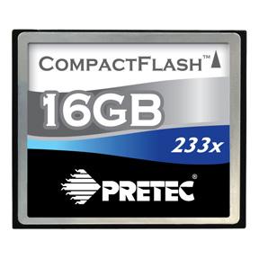 Pretec CF 16GB Cheetah 233x