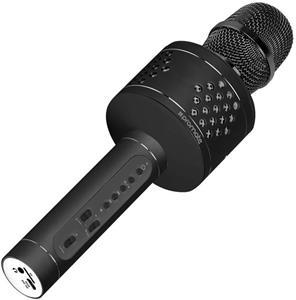 Promate VocalMic-3, mikrofón / BT reproduktor, čierny