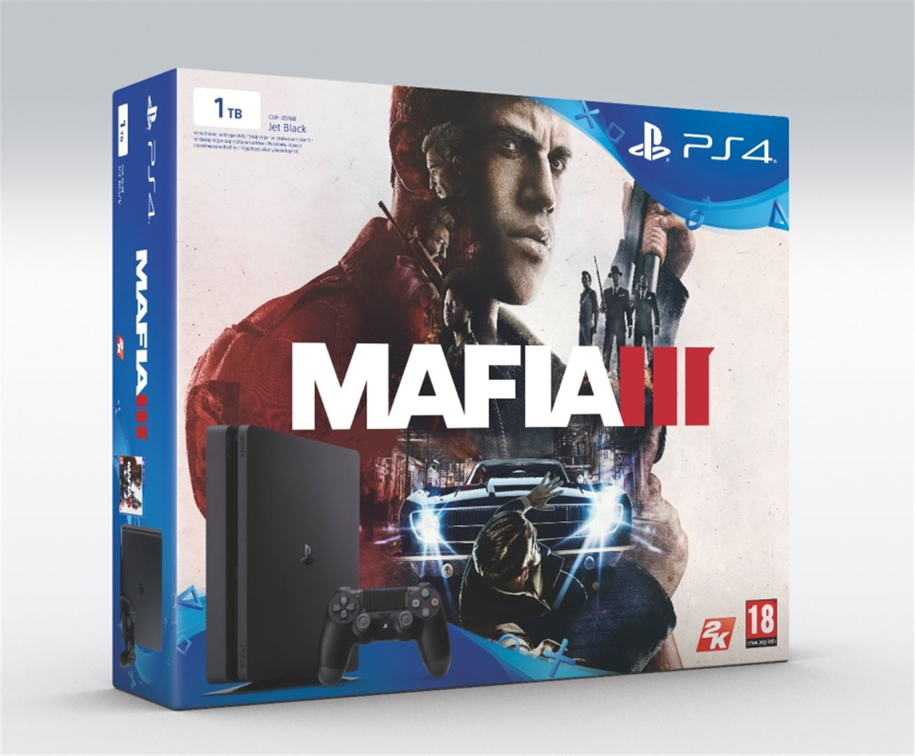 PS4 - Playstation 4 1TB Slim + Mafia 3
