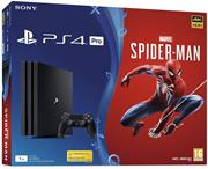 PS4 Pro - Playstation 4 Pro 1TB + Spider-Man/Gamma