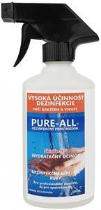 PURE-ALL dezinfekčný prípravok na ruky, 250ml balenie, sprej