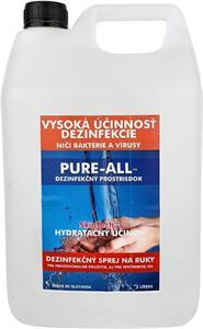 PURE-ALL dezinfekčný prípravok na ruky, 5L balenie