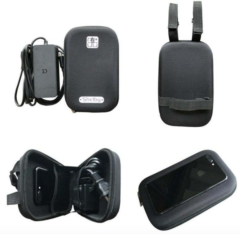 Puzdro s mäkkým obalom pre Xiaomi Scooter, čierne