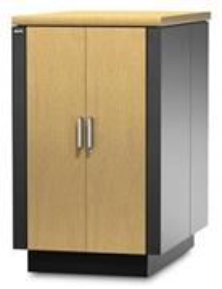 Rack APC NetShelter CX 24U Secure Soundproofed Server Room in a Box Enclosure