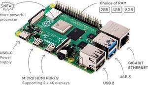 Raspberry Pi 4 Model B 4GB/WiFi/BT/1000Mbps