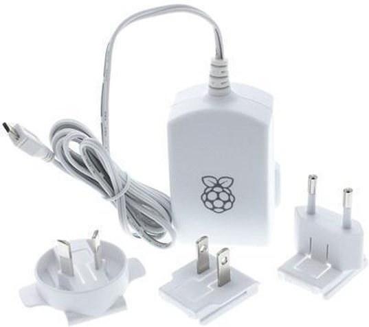 Raspberry Pi USB adaptér, biely