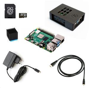 Raspberry Sada Zonepi Pi 4B/1GB, (SDHC karta + adaptér, Pi 4 Model B, krabička, chladič, HDMI kabel, napájecí zdroj)