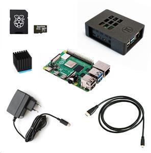 Raspberry Sada Zonepi Pi 4B/4GB, (SDHC karta + adaptér, Pi 4 Model B, krabička, chladič, HDMI kabel, napájecí zdroj)