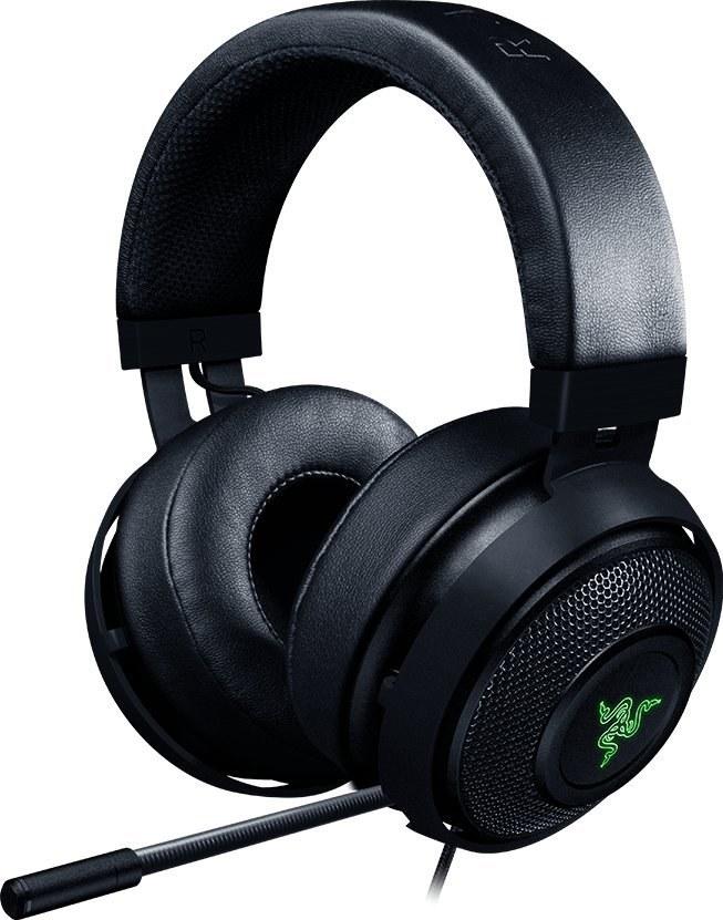 Razer Kraken 7.1 V2 - Oval, slúchadlá s mikrofónom, čierne