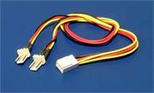Redukcia napájecí rozdvojka pro ventilátory 3pin/2x 3pin