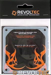 Revoltec Vibration Case-Fan 80x80mm