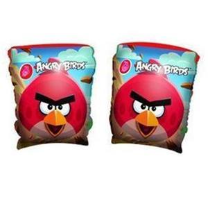 Rukávy Bestway Angry Birds , nafukovací, 23 x 15 cm