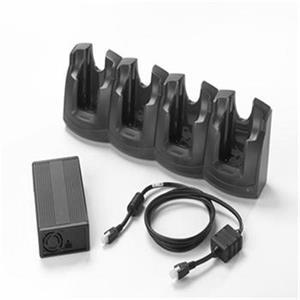 Sada na nabíjanie 4 batérií typu MC30xx/MC31xx, sieťový adaptér