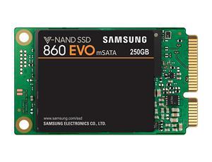 Samsung 860 EVO, mSATA SSD, 250GB