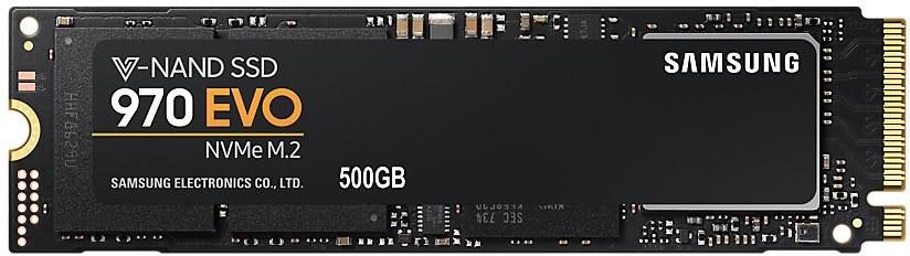 Samsung 970 EVO, M.2 SSD, 500GB
