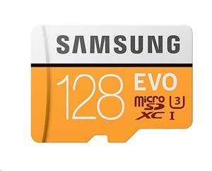 Samsung EVO microSDXC 128GB + adaptér