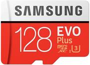Samsung EVO Plus Micro SDXC, 128 GB + SD adaptér