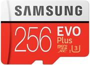 Samsung EVO Plus Micro SDXC, 256 GB + SD adaptér