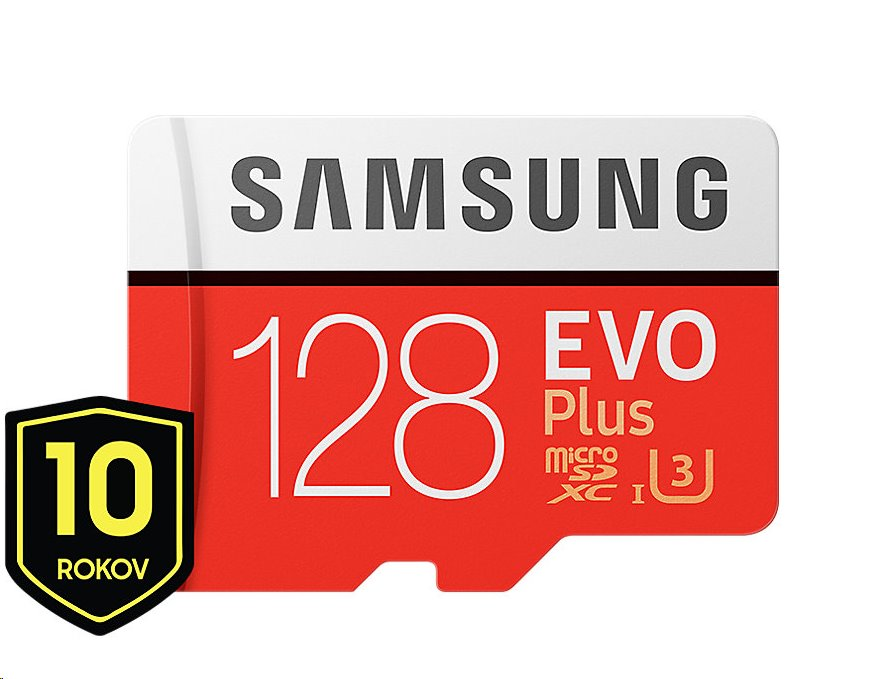 Samsung EVO Plus microSDXC 128GB + adaptér