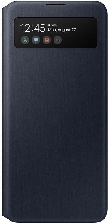 Samsung flipové puzdro S View pre Samsung Galaxy A51, čierne
