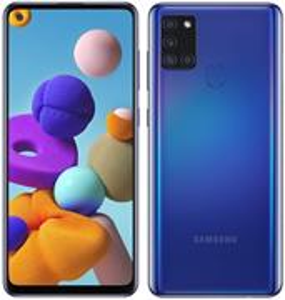 Samsung Galaxy A21s, 32 GB, Dual SIM, modrý
